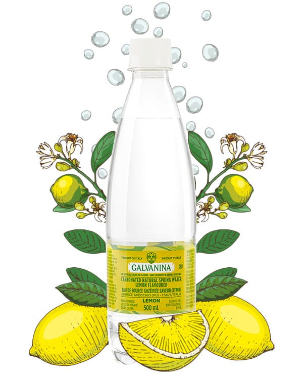 Mineral Water Lemon Flavored