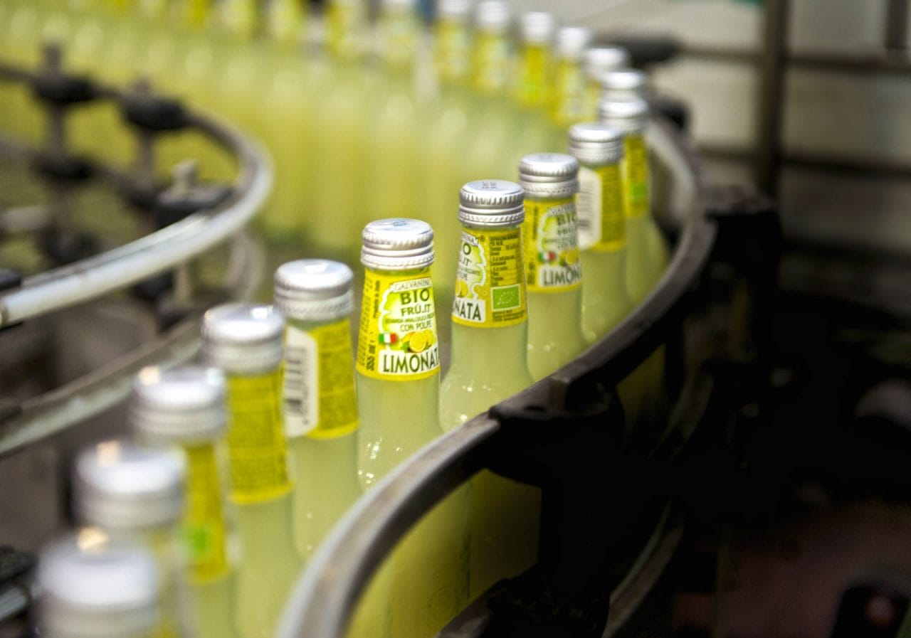 impianto produzione limonata bio